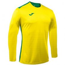 JOMA Campus II Jersey - Yellow / Green (Long Sleeve)